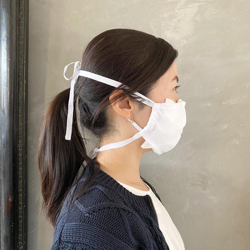 不織布 挟む マスク 手作り
